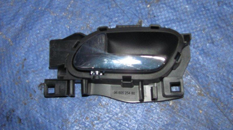 Ручка двери внутренняя Peugeot 308 EP6 2007 левая