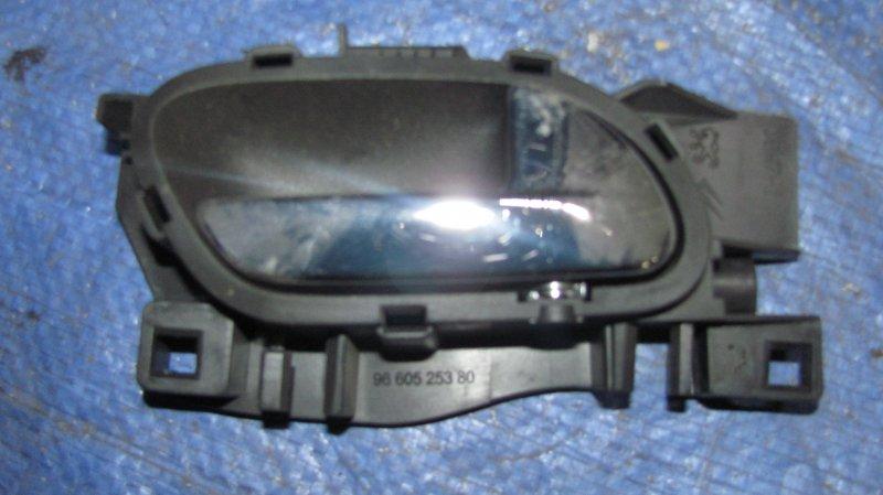 Ручка двери внутренняя Peugeot 308 EP6 2007 правая