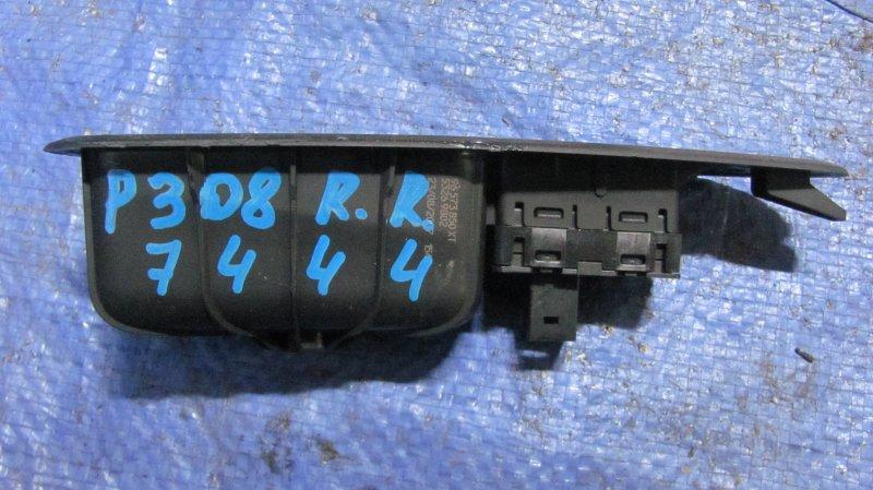 Кнопка стеклоподъемника Peugeot 308 EP6 2007 задняя правая
