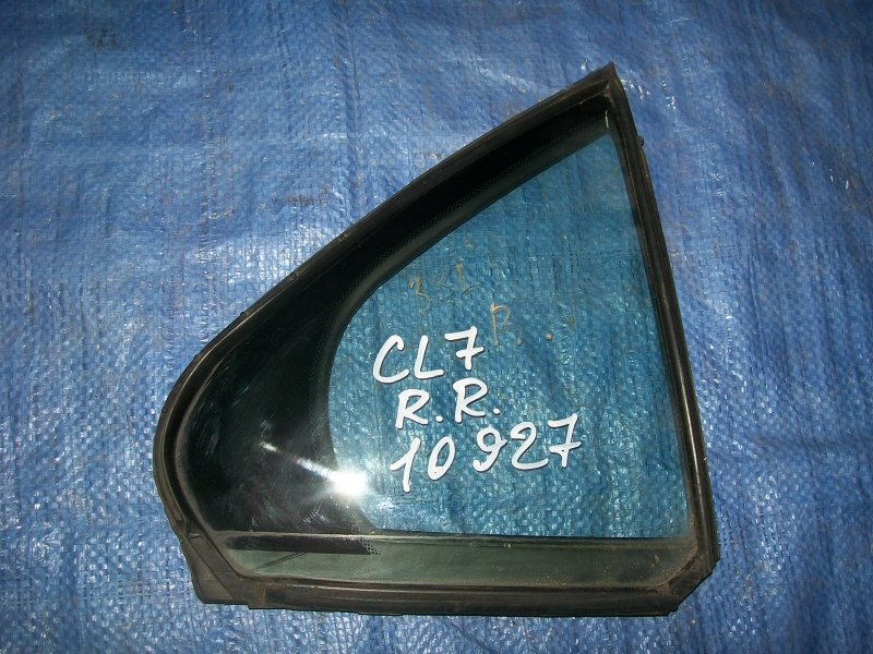 Форточка двери Honda Accord CL7 K20A6 2003 задняя правая