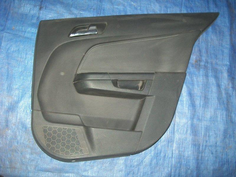 Обшивка двери Opel Astra H Z18XER 2007 задняя правая