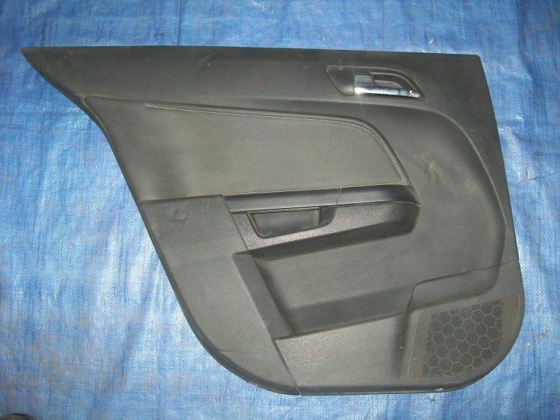 Обшивка двери Opel Astra H Z18XER 2007 задняя левая