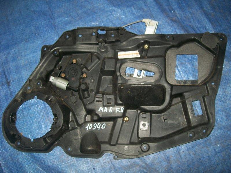 Стеклоподъемник Mazda Atenza GYEW 2003 передний правый