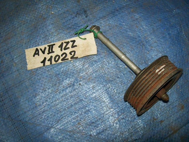 Ролик обводной Toyota Avensis ZZT251 1ZZ-FE 2003