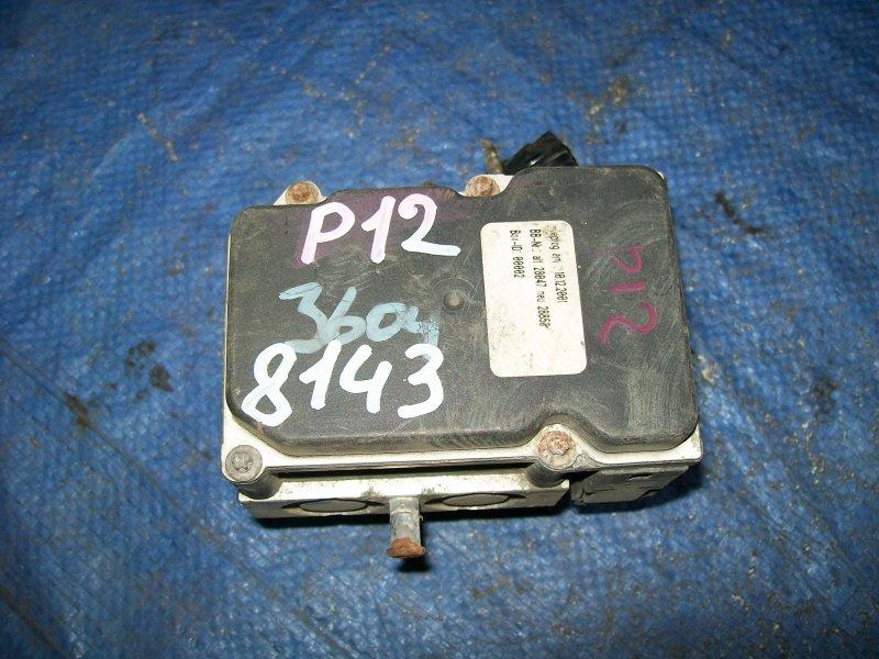 Блок abs Nissan Primera P12 QG18 2002