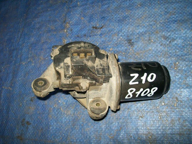 Мотор стеклоочистителя Nissan Cube Z10 CG13DE 1998