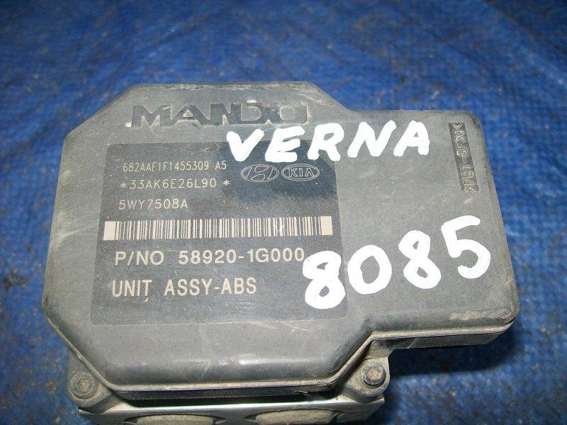 Блок abs Hyundai Verna G4EE 2007