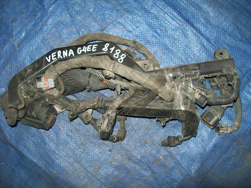 Проводка двигателя Hyundai Verna G4EE 2007