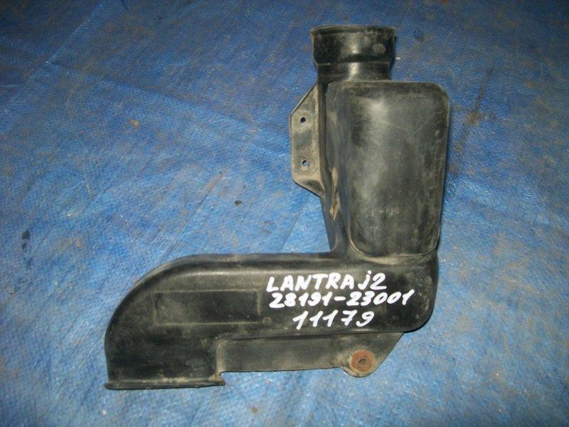 Воздухозаборник Hyundai Lantra J2