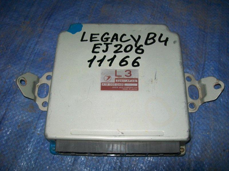 Блок управления двигателем Subaru Legacy BE5 EJ206 2000