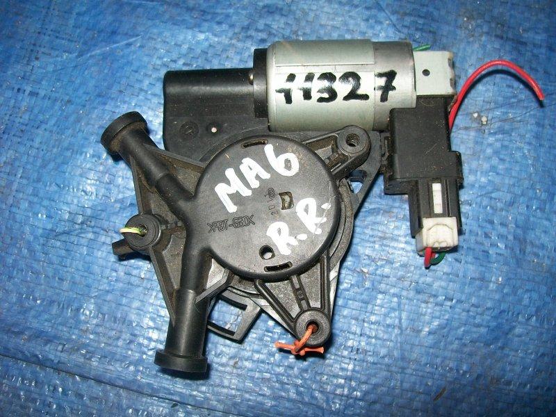 Мотор стеклоподъемника Mazda 6 GG LF18 2002 правый