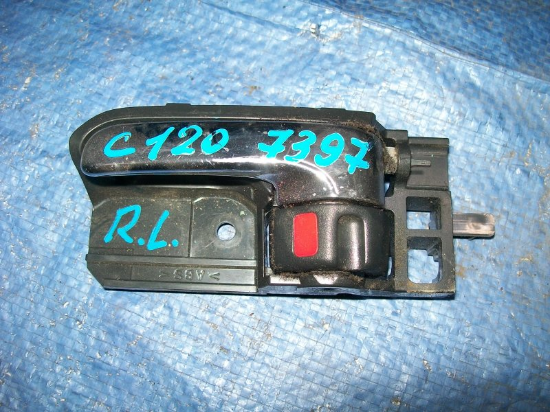 Ручка двери внутренняя Toyota Corolla 120 3ZZ-FE 2003 задняя левая
