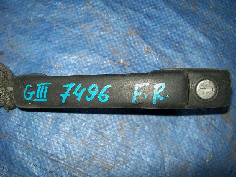 Ручка двери наружняя Volkswagen Golf 3 1993 передняя правая