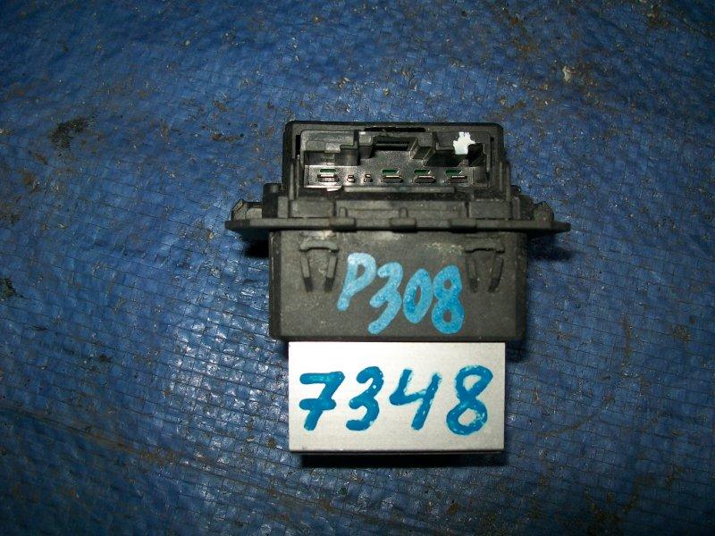 Реостат печки Peugeot 308 EP6 2007