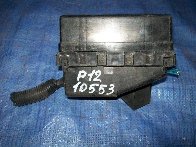 Блок предохранителей Nissan Primera P12 QG18 2004