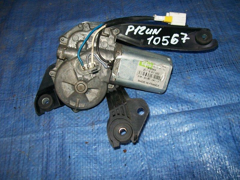 Мотор стеклоочистителя Nissan Primera P12 QG18 2002 задний