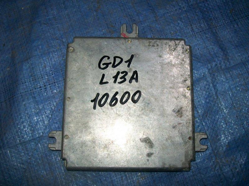 Блок управления двигателем Honda Fit GD1 L13A 2002