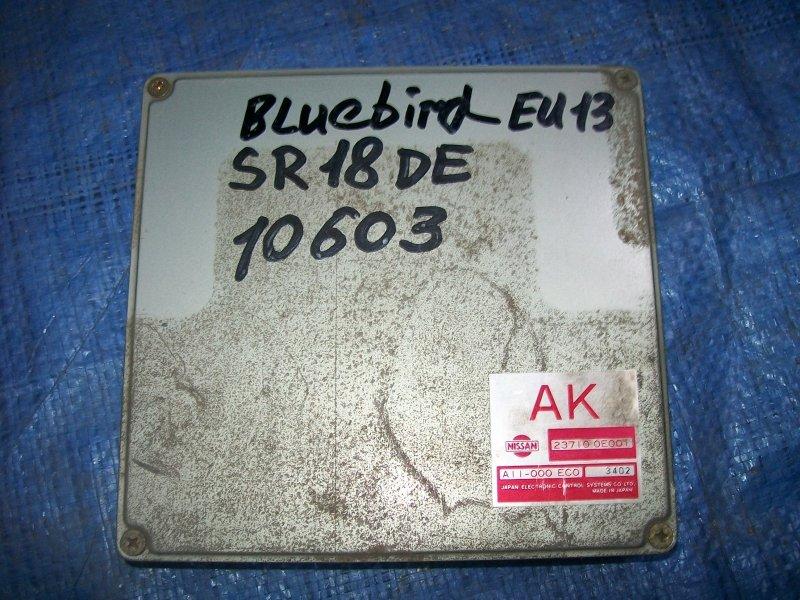 Блок управления двигателем Nissan Bluebird U13 SR18DE 1993
