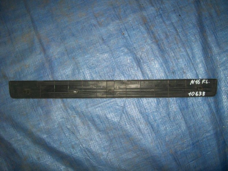Накладка порога Nissan Almera N16 QG15 2001 передняя левая