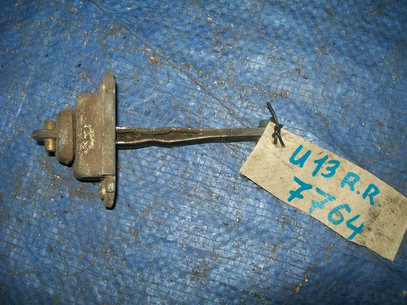 Ограничитель двери Nissan Bluebird U13 SR18DE 1993 задний