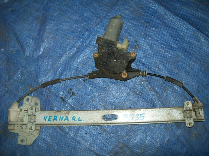 Стеклоподъемник Hyundai Verna G4EE 2007 задний левый