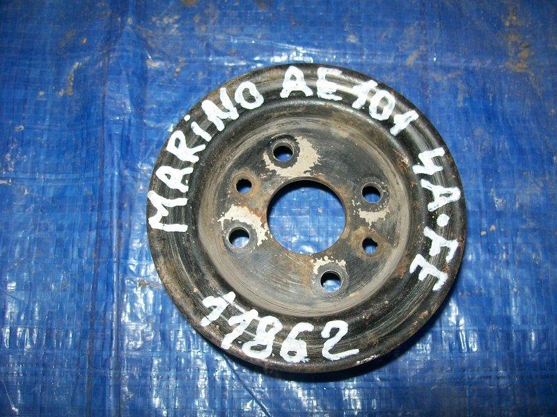 Шкив помпы Toyota Sprinter Marino AE101 4AFE 1996