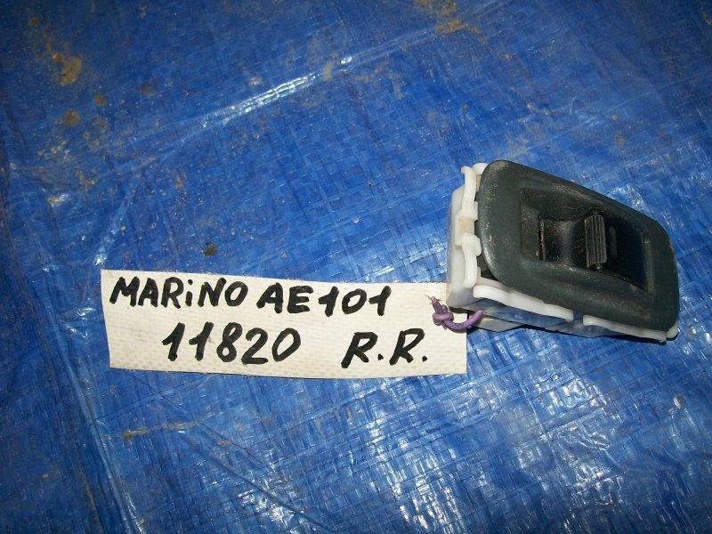 Кнопка стеклоподъемника Toyota Sprinter Marino AE101 4AFE 1996 задняя