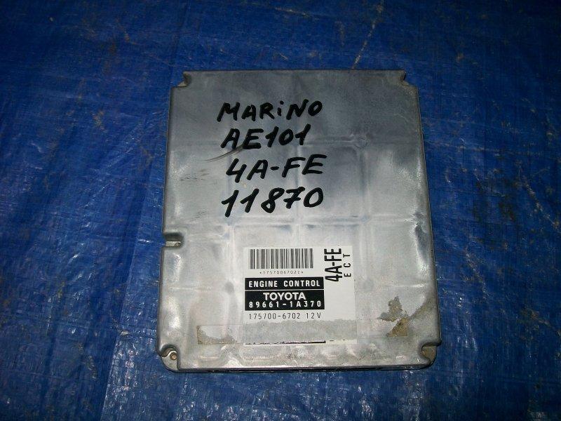 Блок управления двигателем Toyota Sprinter Marino AE101 4AFE 1996