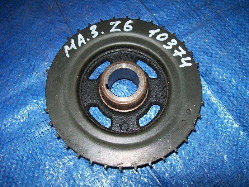 Шкив коленвала Mazda 3 BK Z6 2003