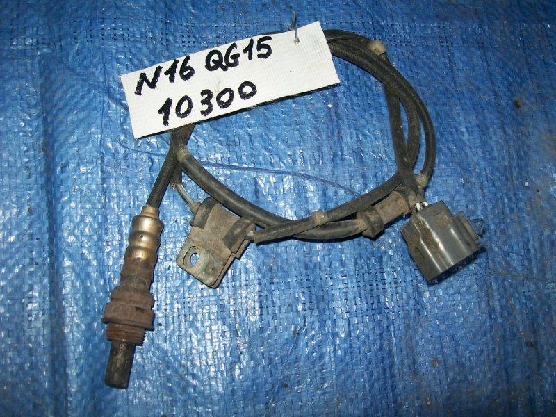 Датчик кислородный Nissan Almera N16 QG15 2001 нижний