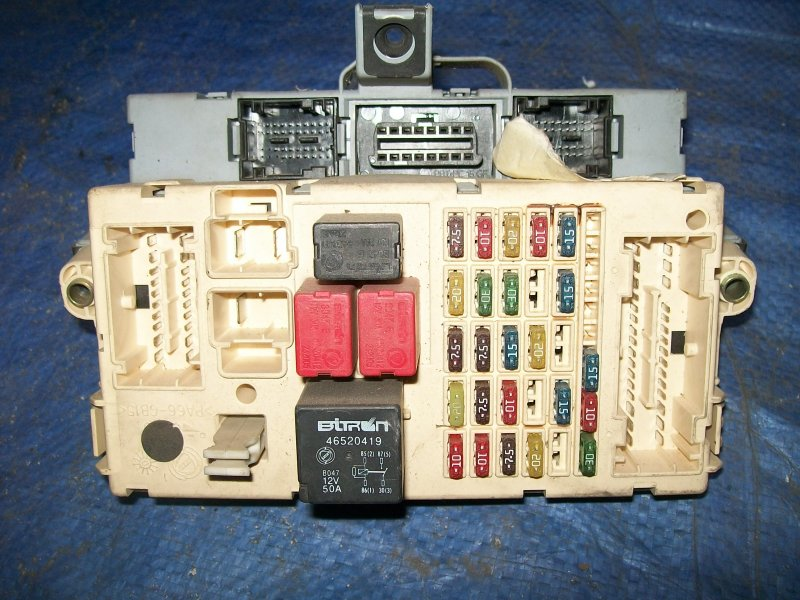 Блок предохранителей Fiat Punto 188 1.2 1999