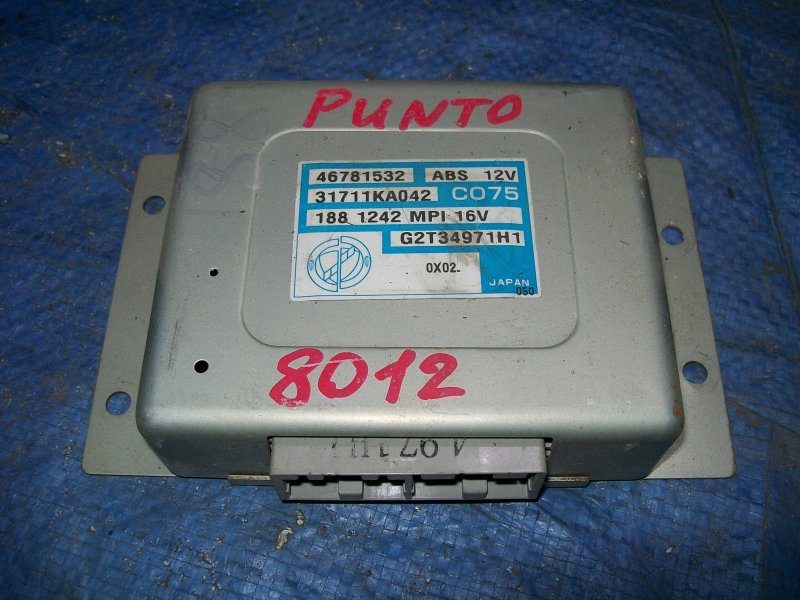 Блок управления abs Fiat Punto 188 1.2 1999