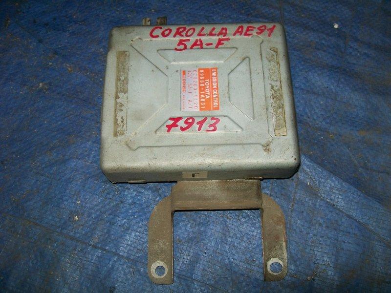Блок управления двигателем Toyota Corolla AE91 1990