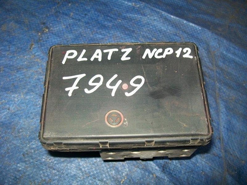 Блок abs Toyota Platz NCP12 2001