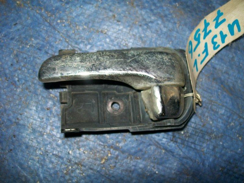 Ручка двери внутренняя Nissan Bluebird U13 SR18DE 1993 передняя левая