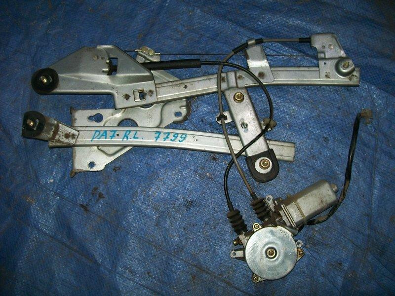 Стеклоподъемник Honda Integra DA7 1992 задний левый