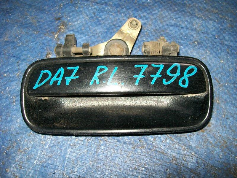 Ручка двери наружняя Honda Integra DA7 1992 задняя левая