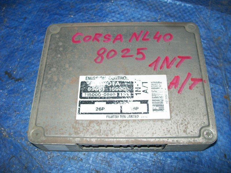 Блок управления двигателем Toyota Corsa NL40 1NT 1992