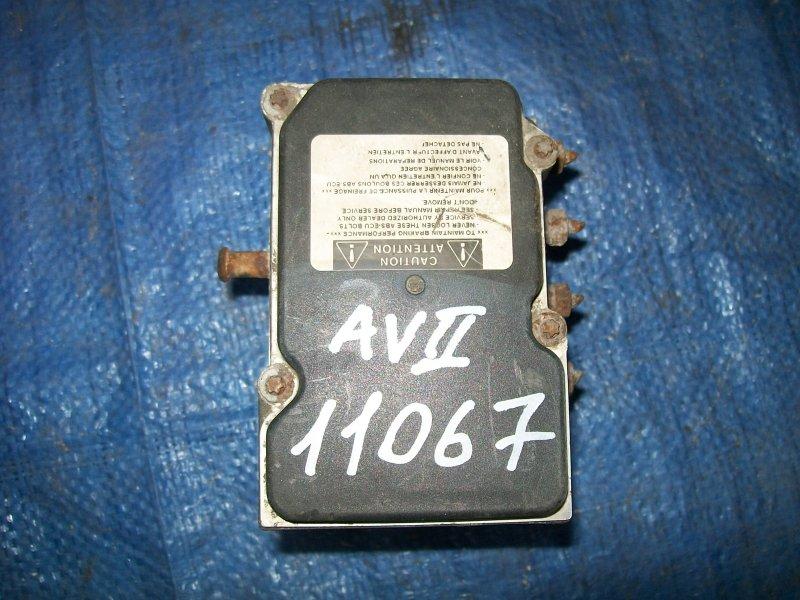 Блок abs Toyota Avensis ZZT251 1ZZ-FE 2003