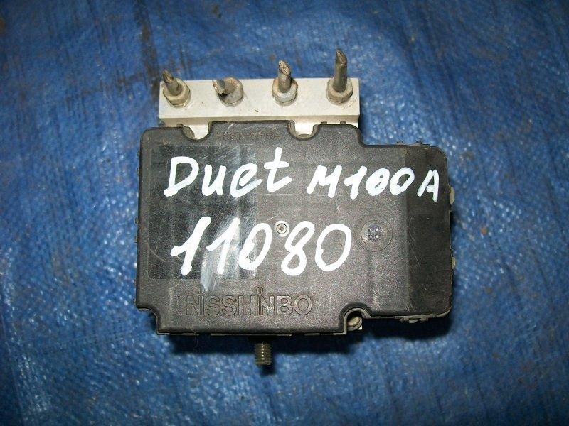 Блок abs Toyota Duet M100 EJ-DE 2000