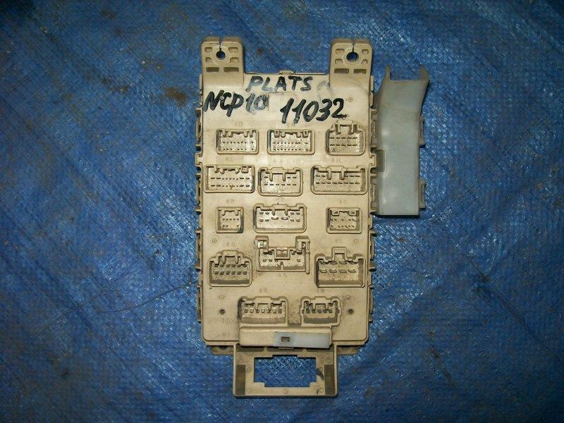 Блок предохранителей Toyota Platz NCP12 1NZ-FE 2001