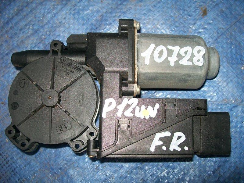 Мотор стеклоподъемника Nissan Primera P12 QG18 2002 передний правый