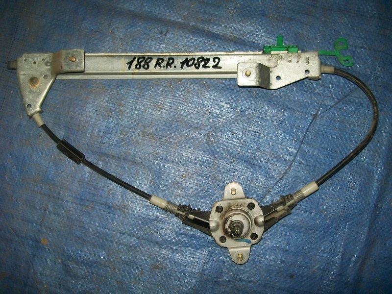 Стеклоподъемник Fiat Punto 188 1.2 1999 задний правый