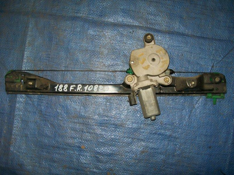 Стеклоподъемник Fiat Punto 188 1.2 1999 передний правый