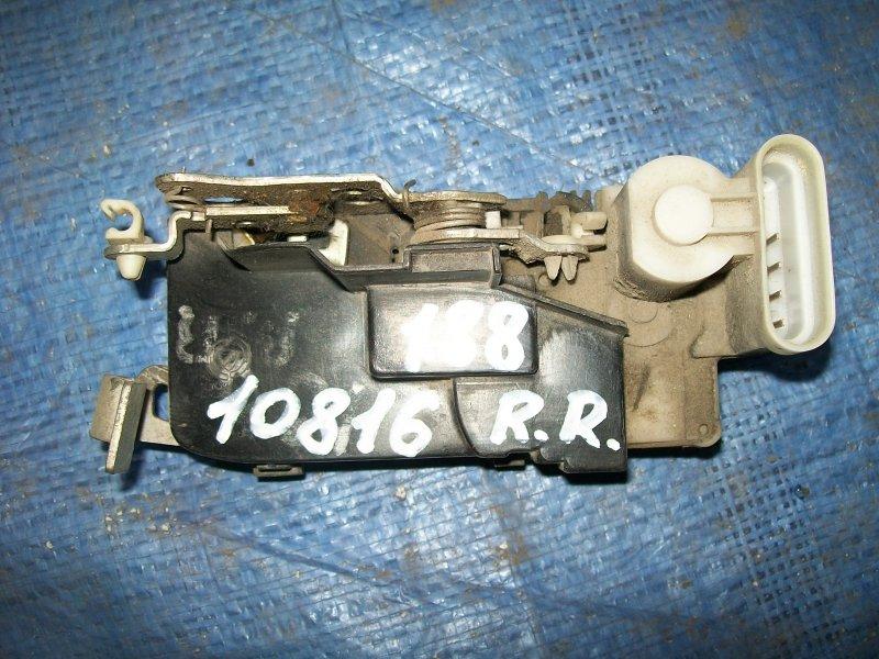 Замок двери Fiat Punto 188 1.2 1999 задний правый