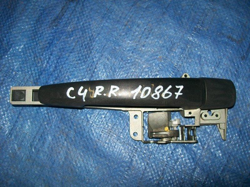 Ручка двери наружняя Citroen C4 LC NPU 2005 задняя правая