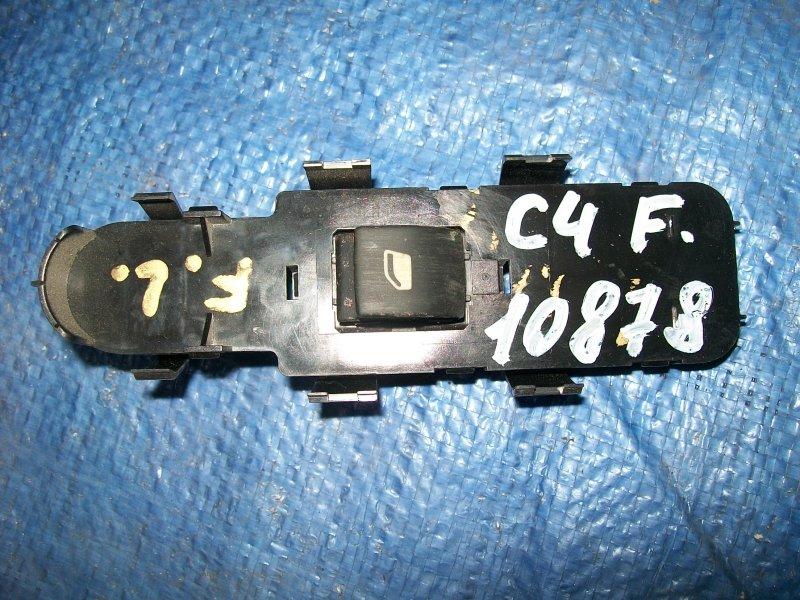 Кнопка стеклоподъемника Citroen C4 LC NPU 2005 передняя