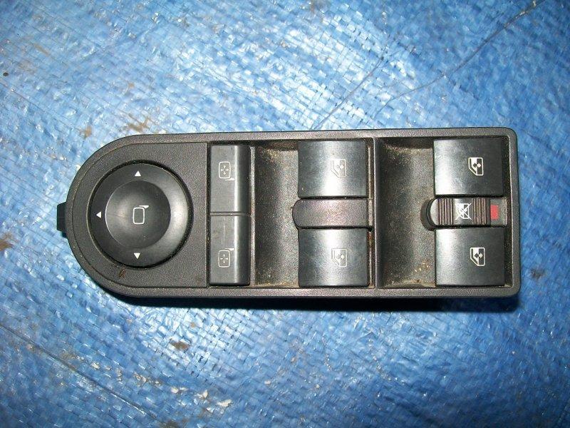 Блок управления стеклоподъемниками Opel Astra H Z18XER 2007
