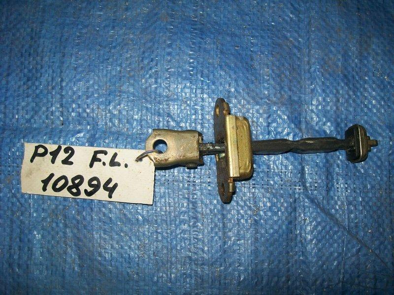 Ограничитель двери Nissan Primera P12 QG18 2002 передний