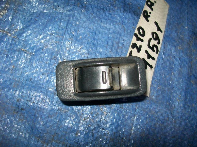 Кнопка стеклоподъемника Toyota Carina AT210 4AGE 1998 задняя